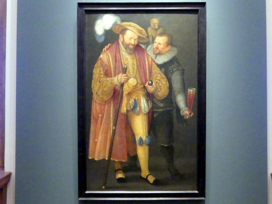 Cornelis Ketel (Umkreis): Allegorische Darstellung, um 1600