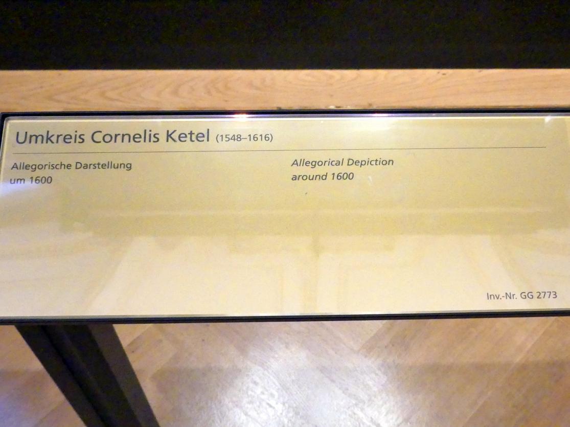 Cornelis Ketel (Umkreis): Allegorische Darstellung, um 1600, Bild 2/2