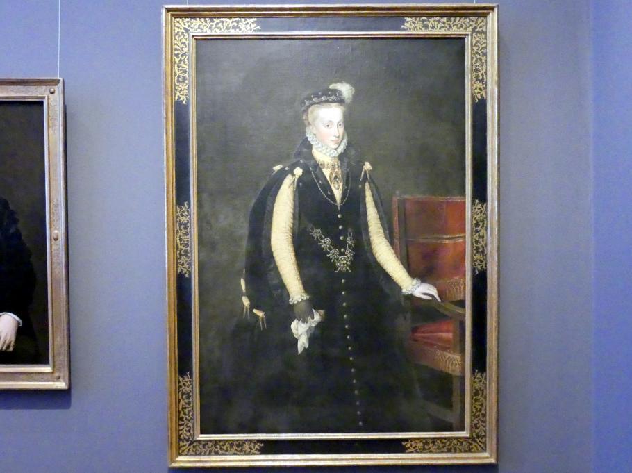 Anthonis Mor: Anna von Österreich, Königin von Spanien, 1570