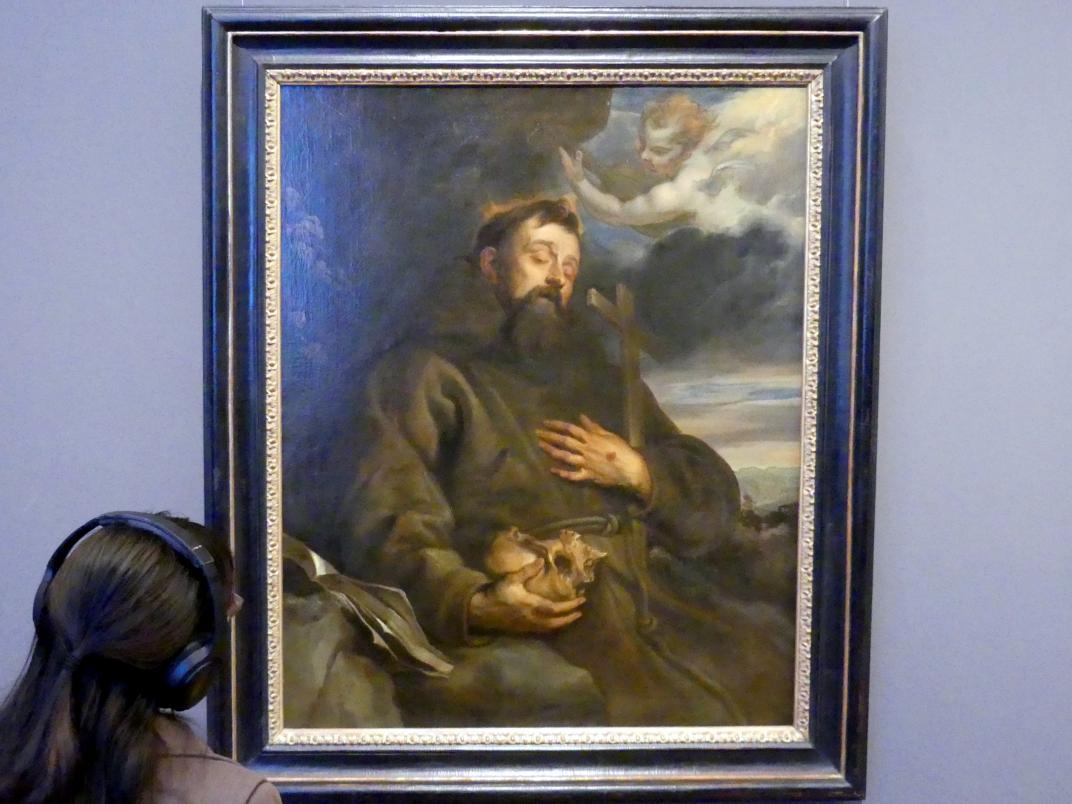 Anthonis (Anton) van Dyck: Hl. Franziskus in Ekstase, 1630 - 1632
