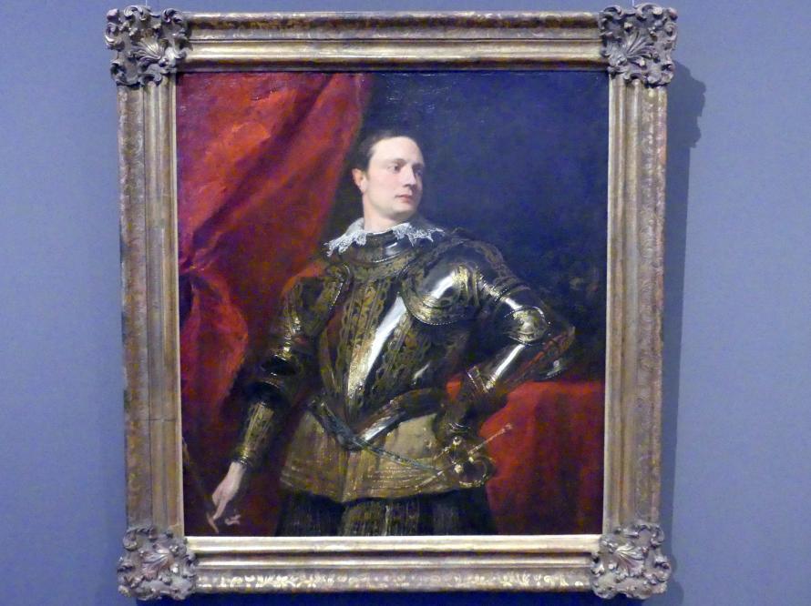 Anthonis (Anton) van Dyck: Junger Feldherr, 1622 - 1623