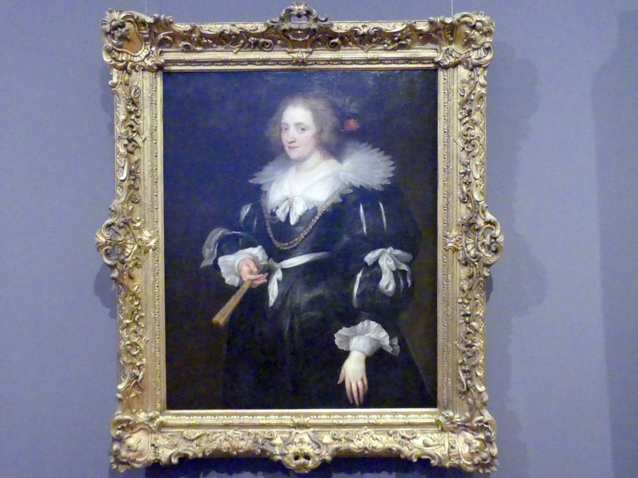 Anthonis (Anton) van Dyck: Junge Dame, 1630 - 1632