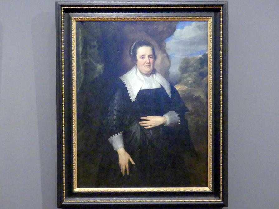 Anthonis (Anton) van Dyck: Bildnis einer Frau, 1634