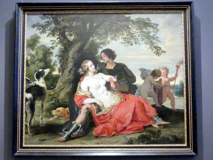 Abraham Janssens van Nuyssen: Venus und Adonis, um 1620