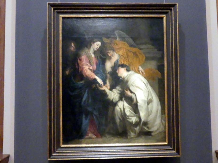 Anthonis (Anton) van Dyck: Mystische Verlobung des seligen Hermann Joseph mit Maria, 1630