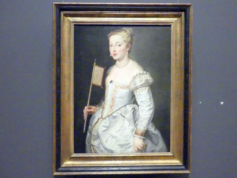 Peter Paul Rubens: Mädchen mit Fächer, 1628 - 1630