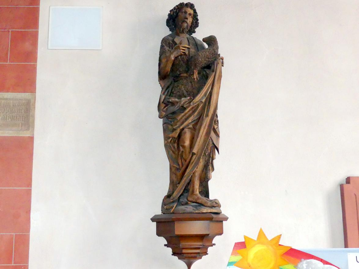 Tilman Riemenschneider: Johannes der Täufer, 1485 - 1490