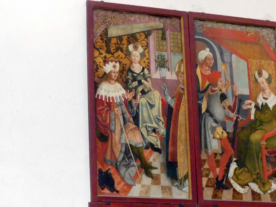 Veit Stoß: Tafeln mit Szenen aus der Kilianslegende, 1504 - 1505