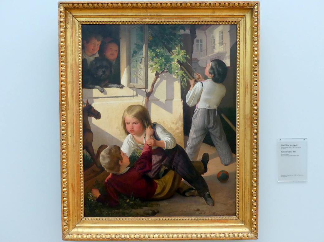 Eduard Ritter von Engerth: Raufende Buben, 1842