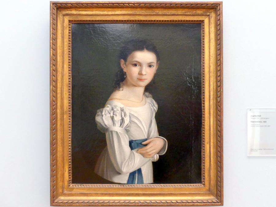 Angelika Weiß: Mädchenbildnis, 1826