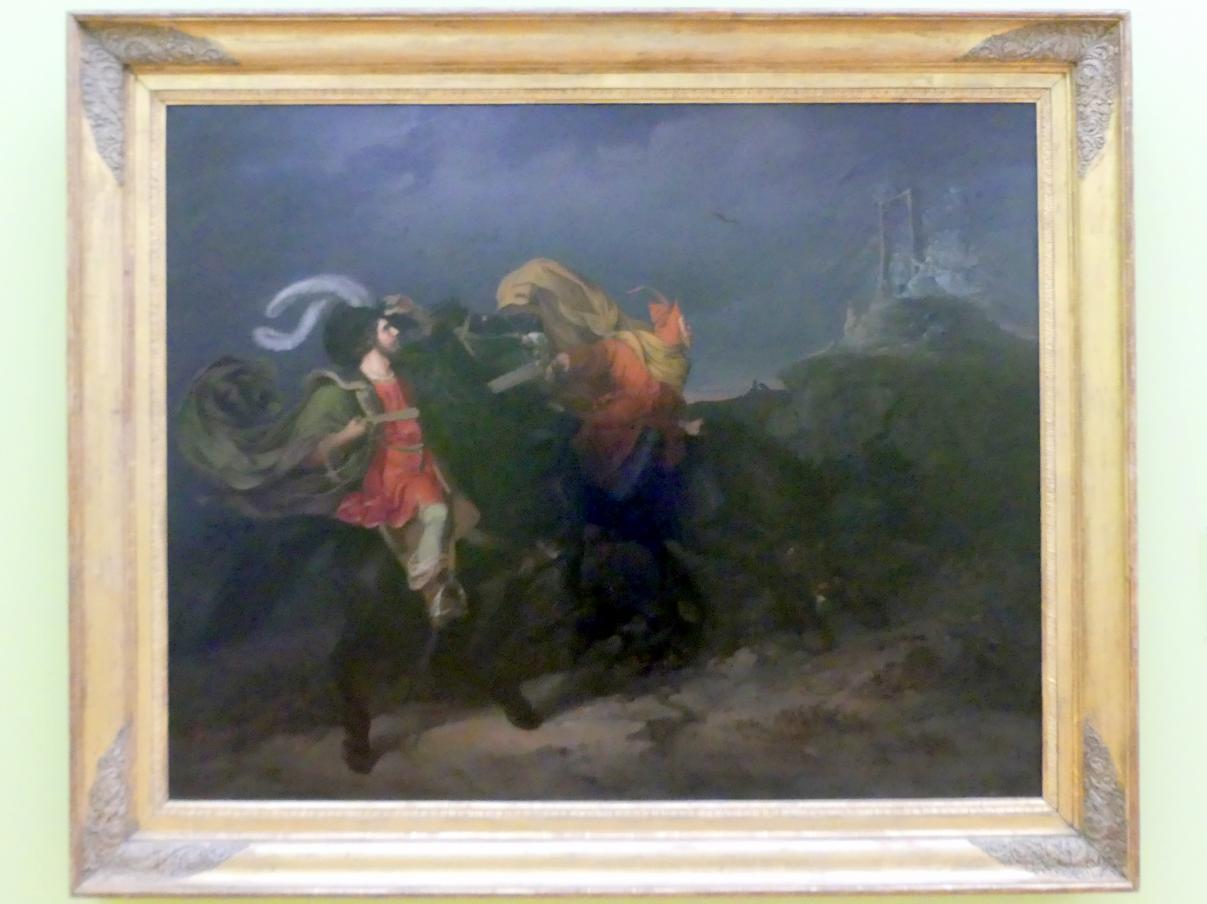 Franz Krammer: Faust und Mephisto auf dem Blocksberg, 1834, Bild 1/2