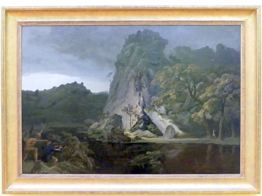 Carl Blechen: Dämonische Landschaft, um 1826