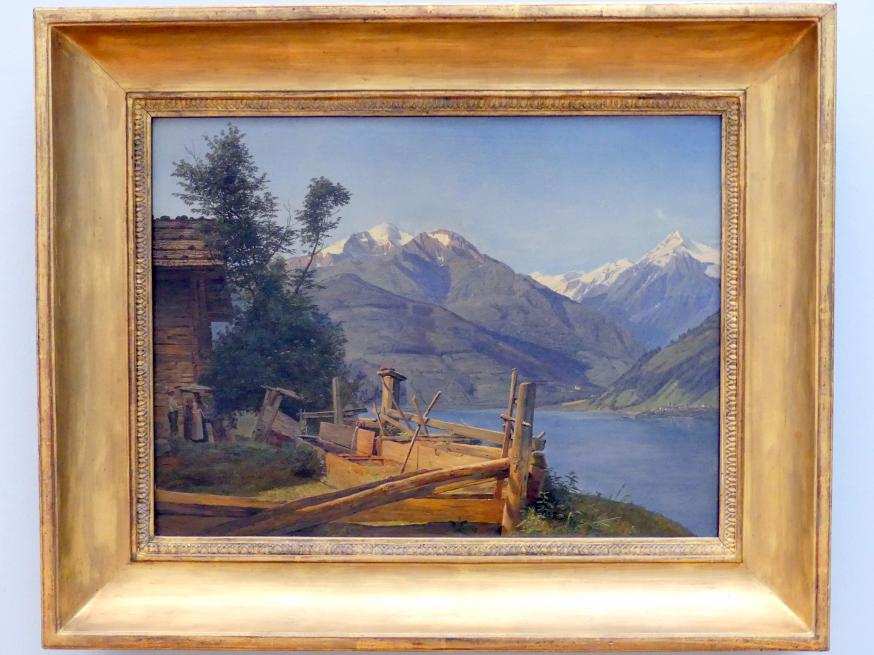 Ferdinand Georg Waldmüller: Zell am See im Pinzgau, 1837