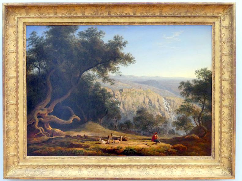 Franz Ludwig Catel: Italienische Landschaft bei Rom, Um 1840