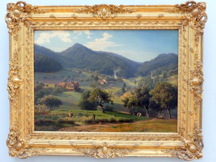 Johann Wilhelm Schirmer: Das Gunzenbachtal bei Baden-Baden, 1855