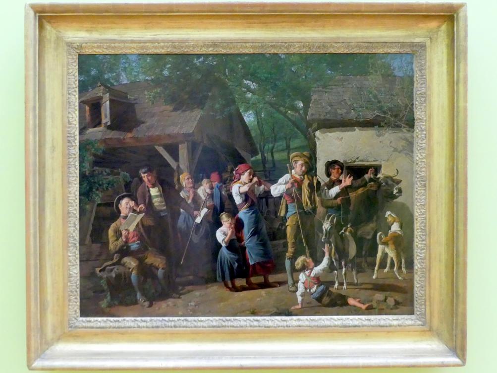 Ferdinand Georg Waldmüller: Die Pfändung, 1849