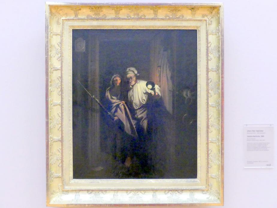 Carl Spitzweg: Gestörte Nachtruhe, 1849