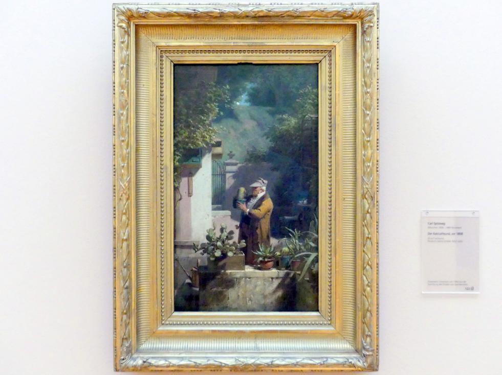 Carl Spitzweg: Der Kaktusfreund, Vor 1858