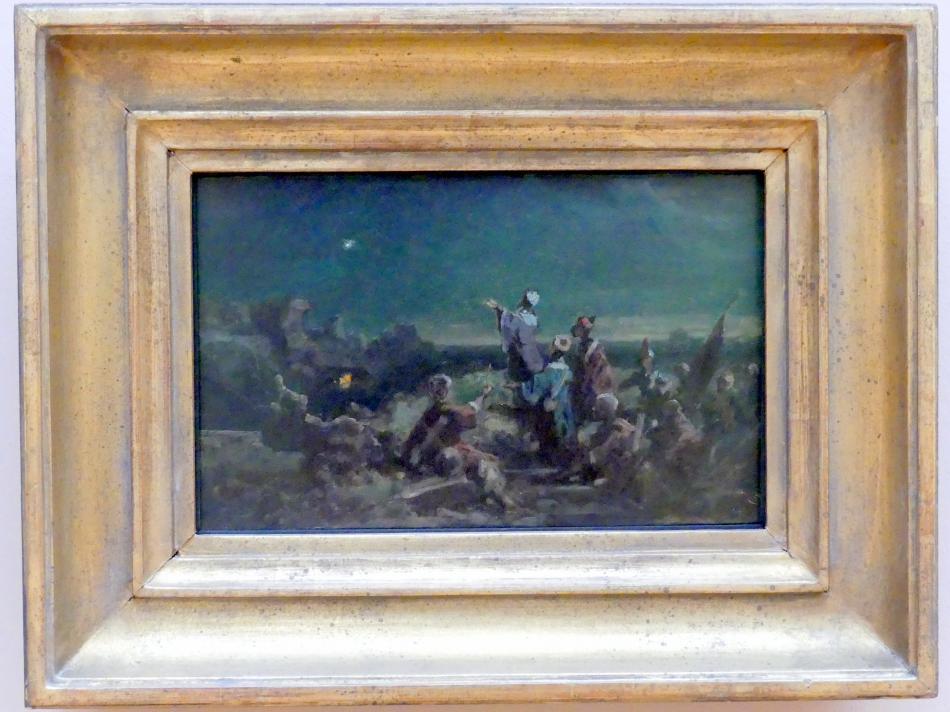 Carl Spitzweg: Der Stern von Bethlehem, Um 1870 - 1872
