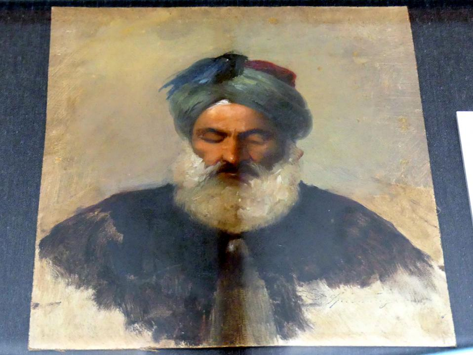Carl Spitzweg: Kopfstudie eines alten Türken, um 1851 - 1852