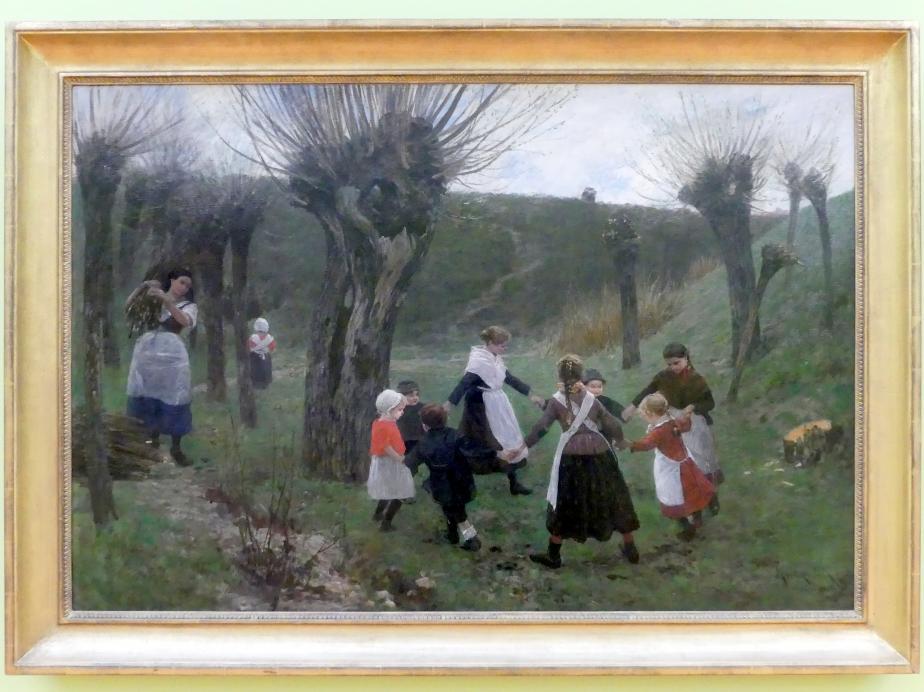 Leopold Graf von Kalckreuth: Kinderreigen, 1886