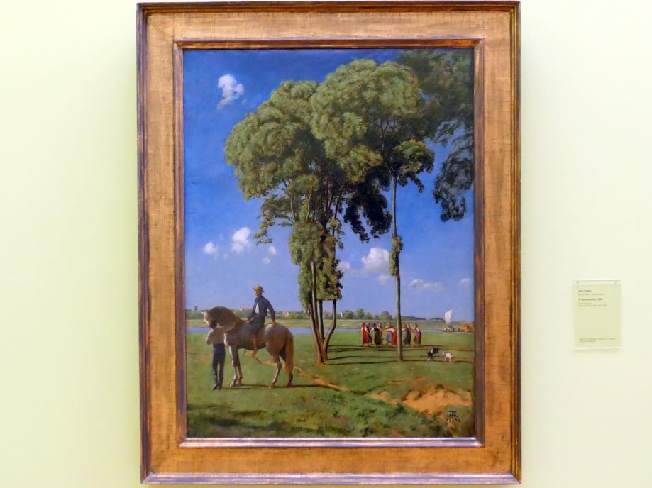 Hans Thoma: Im Sonnenschein, 1890