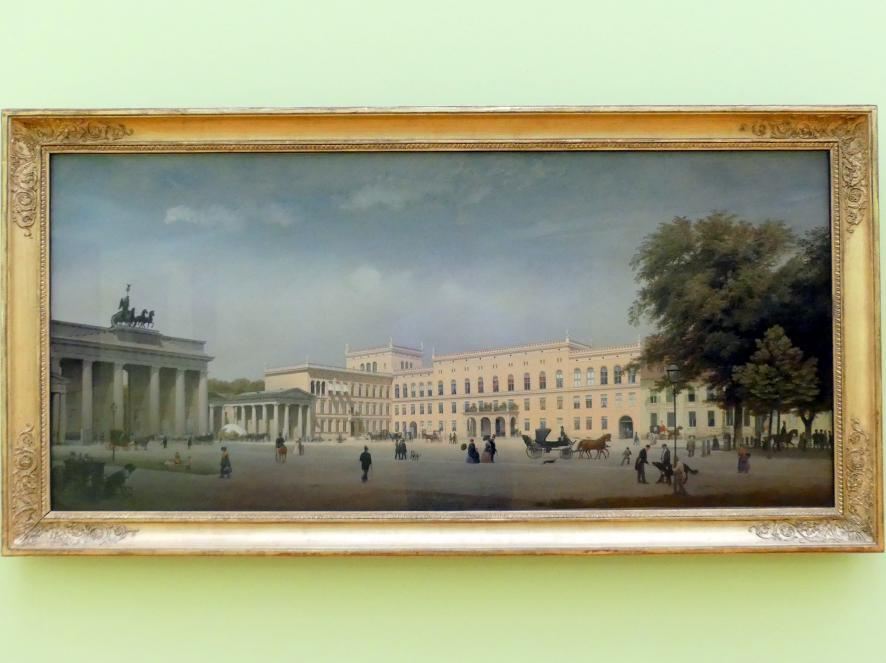 Eduard Gaertner: Das Brandenburger Tor, 1846