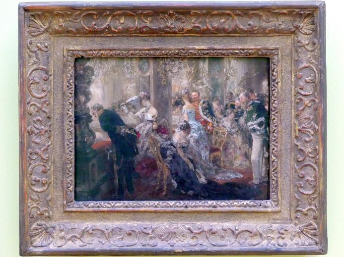 Adolph von Menzel: Im Weißen Saal / Ball-Episode, 1888