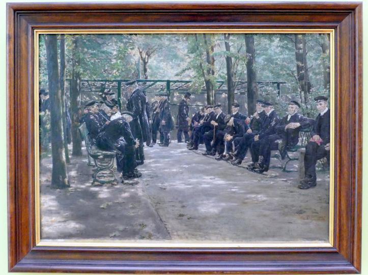 Max Liebermann: Altmännerhaus in Amsterdam, 1881