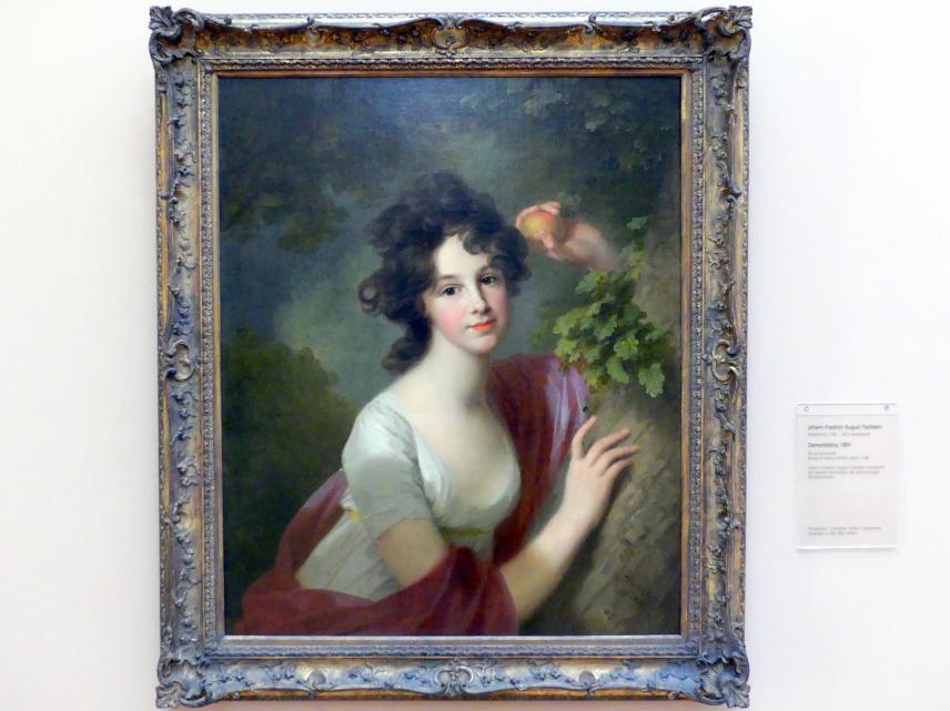 Johann Friedrich August Tischbein: Damenbildnis, 1801