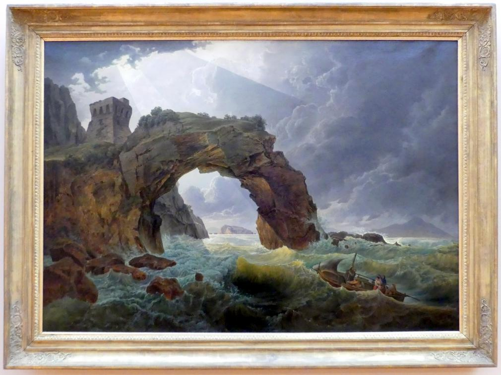 Josef Rebell: Der Arco di Foggia (Die Grotte Foggia), Um 1819 - 1825
