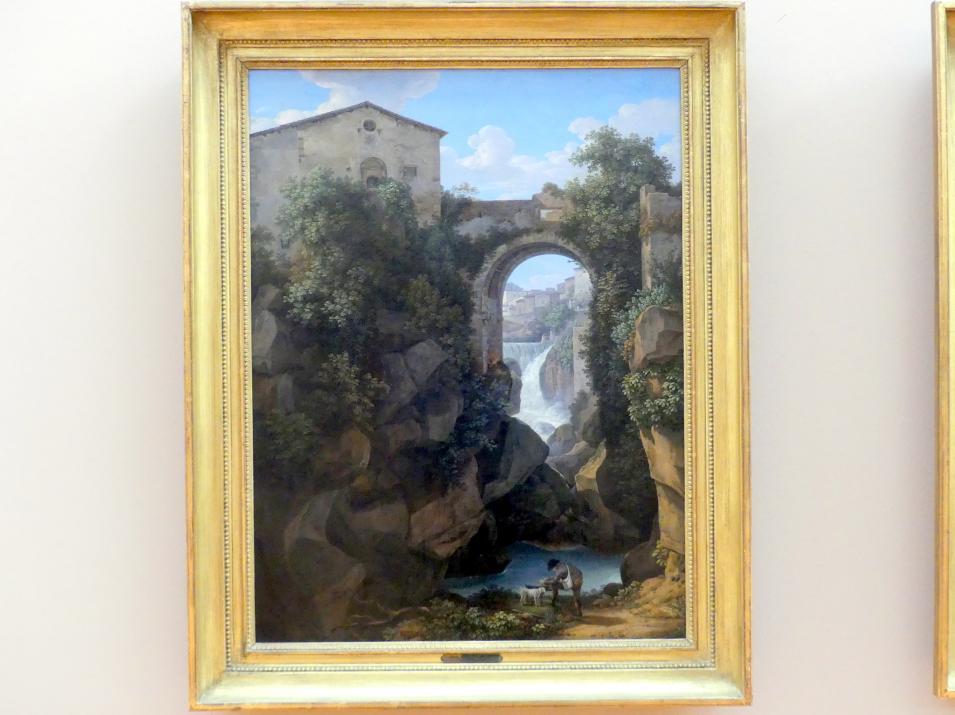 Johann Christian Reinhart: Tivoli mit Ponte di San Rocco, 1813
