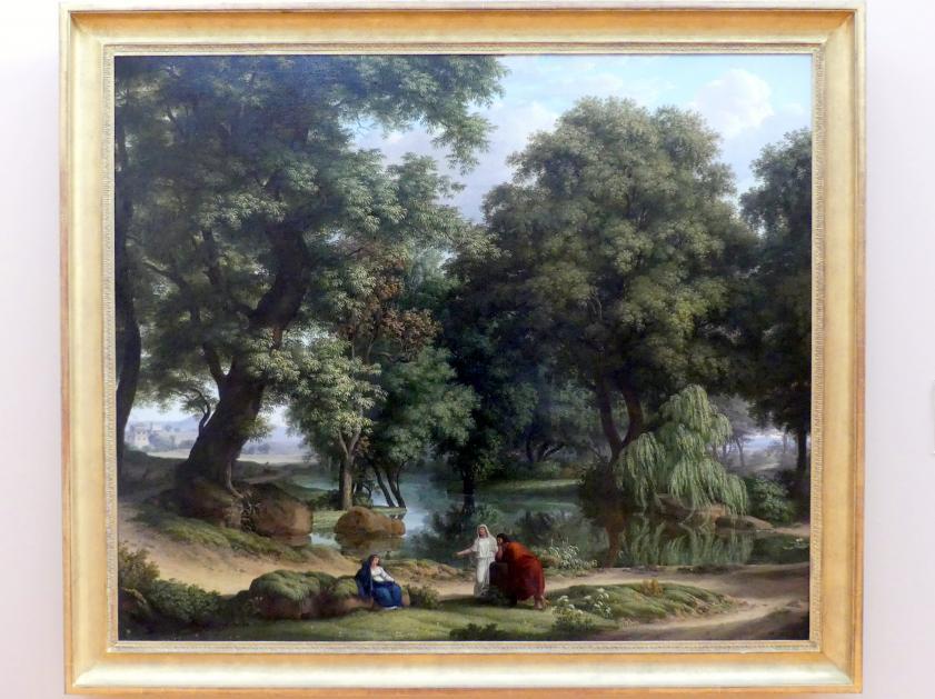 Johann Christian Reinhart: Ideale Baumlandschaft, 1796