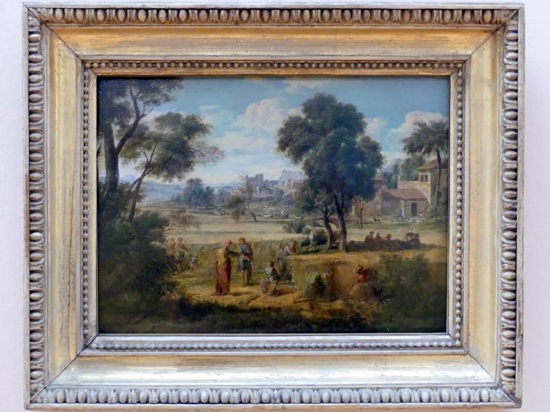 Joseph Anton Koch: Ruth und Boas auf dem Felde, um 1803