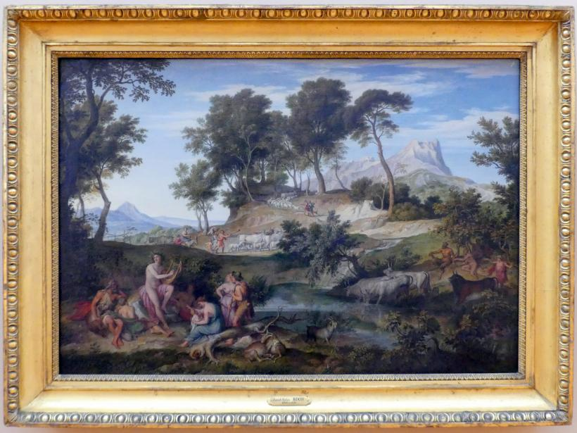 Joseph Anton Koch: Apollo unter den Hirten, 1834