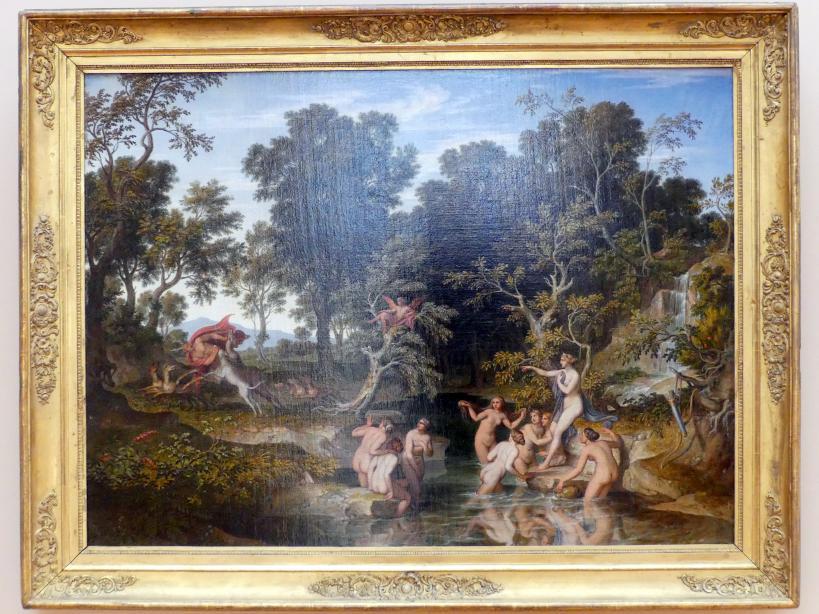 Joseph Anton Koch: Landschaft mit Diana und Aktäon, 1832