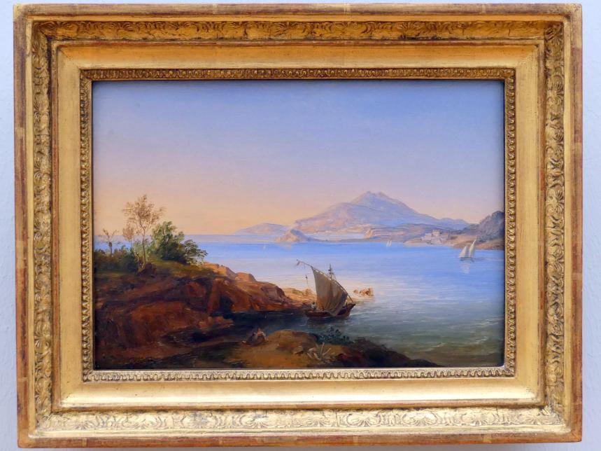 Carl Rottmann: Golf von Bajae, um 1831