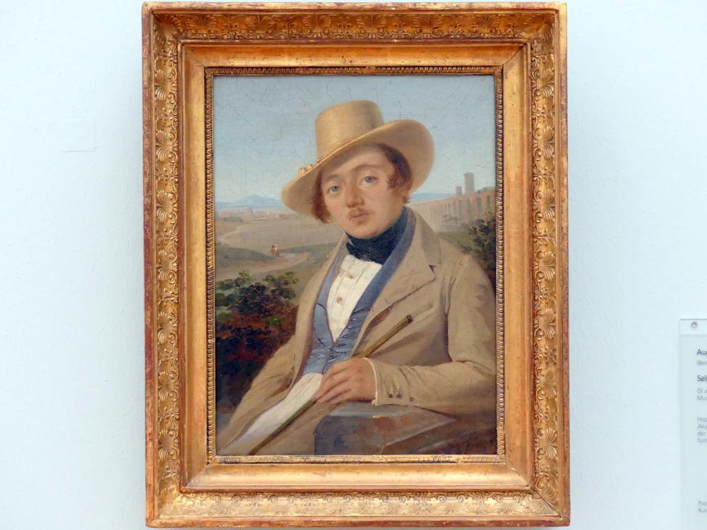 August Ferdinand Hopfgarten: Selbstbildnis, um 1830