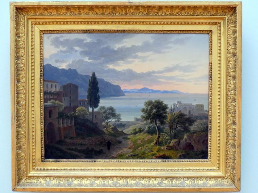 Leo von Klenze: Italienische Landschaft am Golf von Neapel, nach 1833