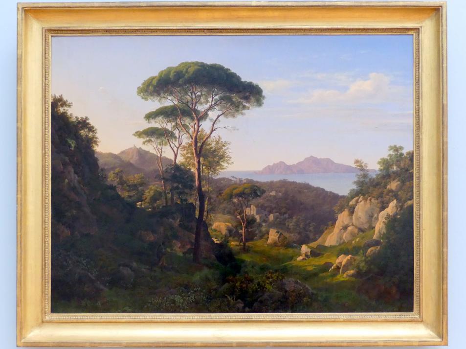 Johann Heinrich Schilbach: Am Golf von Neapel, 1827