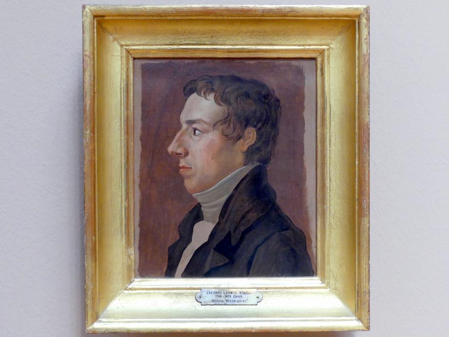 Ludwig Vogel: Bildnis Josef Wintergerst, 1809 - 1812
