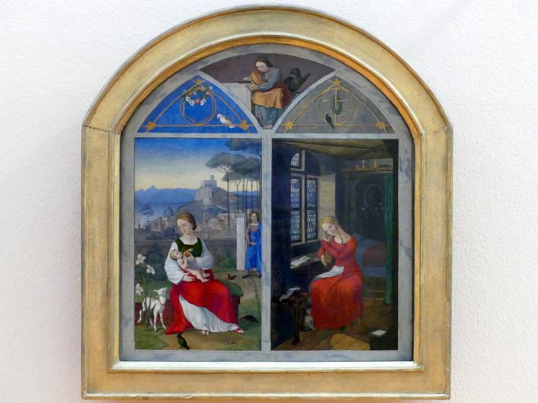Franz Pforr: Sulamith und Maria, 1811