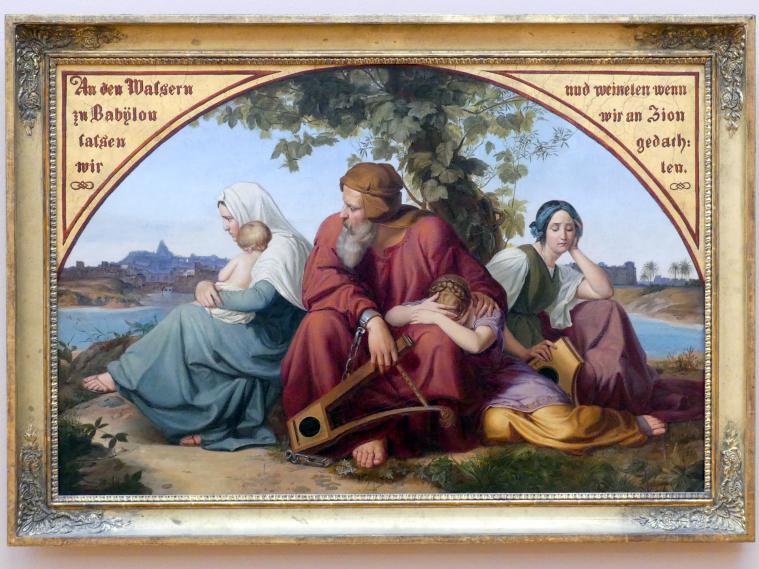 Eduard Julius Friedrich Bendemann: Die trauernden Juden im Exil, Nach 1832