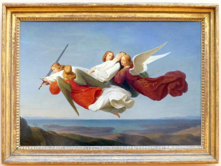 Heinrich Karl Anton Mücke: Die Übertragung des Leichnams der heiligen Katharina zum Berg Sinai, um 1836 - 1840
