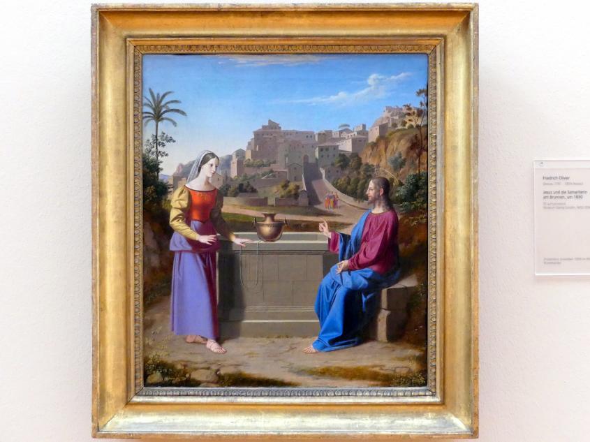 Friedrich von Olivier: Jesus und die Samariterin am Brunnen, um 1830
