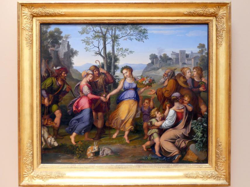 Franz Riepenhausen: Das Mädchen aus der Fremde, um 1807 - 1810, Bild 1/2