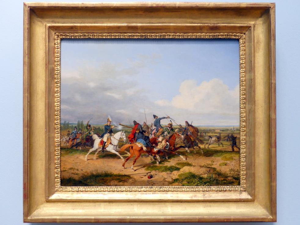 Karl Wilhelm von Heideck: Reitergefecht, 1821