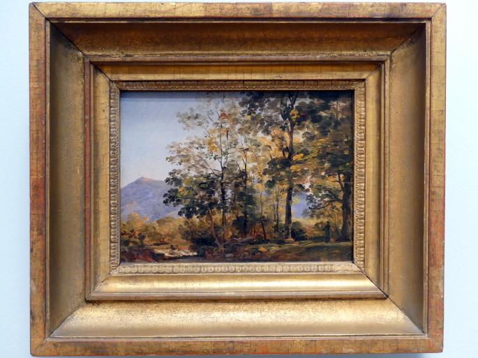 Johann Georg von Dillis: Waldstudie, um 1820