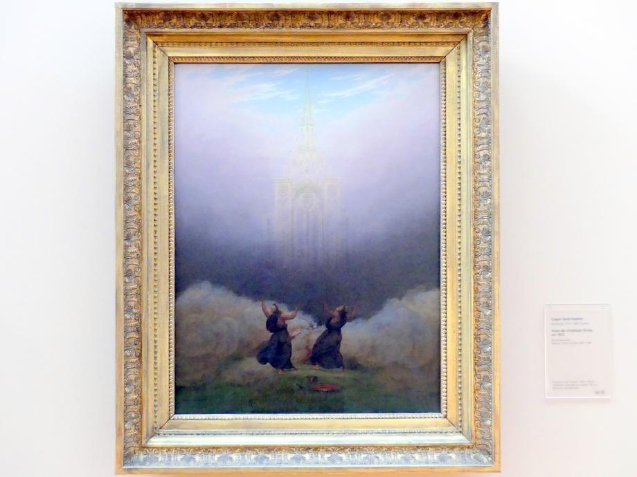 Caspar David Friedrich: Vision der christlichen Kirche, um 1812
