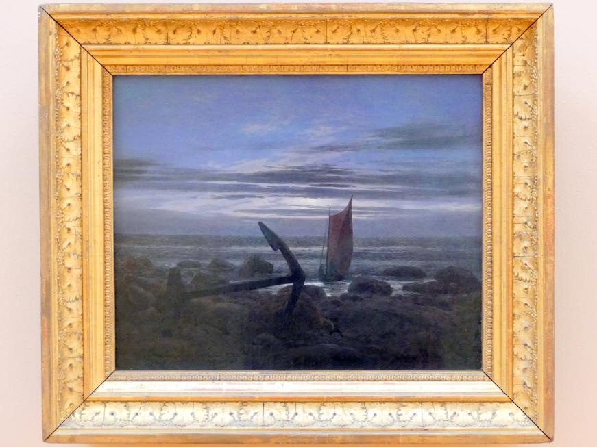 Caspar David Friedrich: Abend an der Ostsee, um 1826